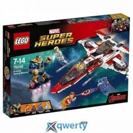 LEGO Super Heroes Marvel Реактивный самолёт Мстителей: Космическая миссия (76049)