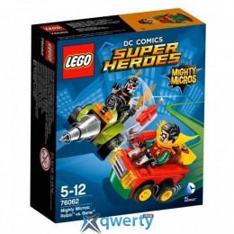 LEGO Super Heroes Робин против Бэйна (76062)