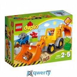 LEGO DUPLO Экскаватор-погрузчик (10811)