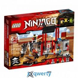 LEGO Ninjago Побег из тюрьмы Криптариум (70591)