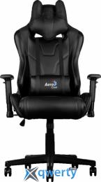 AEROCOOL AC220B (4710700959688) (чёрное) + подушка под шею