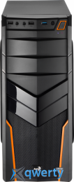 AEROCOOL  PGS V2X (Orange) (4713105952674) + БП Aerocool VX-550 550W