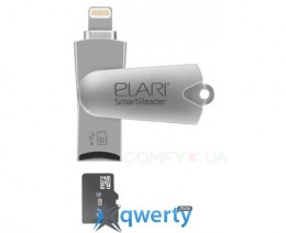 ELARI SmartReader USB 2.0 Flash Drive (ELSRSLV)