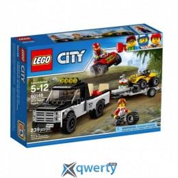 LEGO City Гоночная команда 239 деталей (60148)