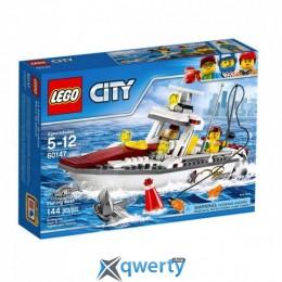 LEGO City Рыболовный катер 144 детали (60147)