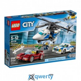 LEGO City Стремительная погоня 294 детали (60138)