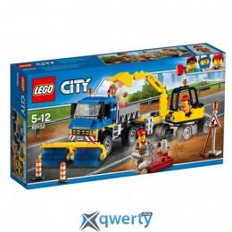 LEGO City Уборочная техника 299 деталей (60152)