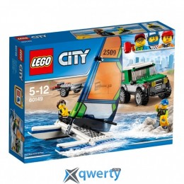 LEGO City Внедорожник с прицепом для катамарана 198 деталей (60149)