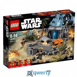 LEGO Star Wars Битва на Скарифе 419 деталей (75171)