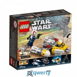 LEGO Star Wars Микроистребитель Y-Wing 90 деталей (75162)