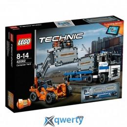 LEGO TECHNIC Контейнерный терминал 631 деталь (42062)