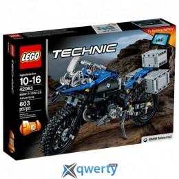 LEGO TECHNIC Приключения на BMW R 1200 GS 603 детали (42063)