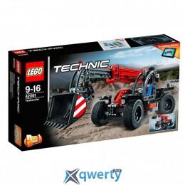 LEGO TECHNIC Телескопический погрузчик 260 деталей (42061)