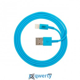 JUST Simple Lighting USB Cable Blue 1M (LGTNG-SMP10-BLUE)