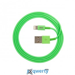 JUST Simple Lighting USB Cable Green 1M (LGTNG-SMP10-GRN)