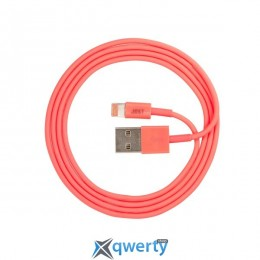 JUST Simple Lighting USB Cable Pink 1M (LGTNG-SMP10-PNK)