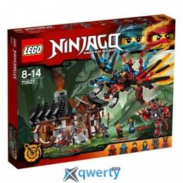 LEGO NINJAGO Кузница Дракона 1137 деталей (70627)