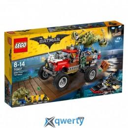 LEGO The Batman Movie Хвостовоз Убийцы Крока 460 деталей (70907)