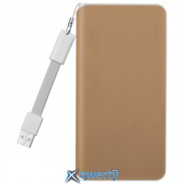 MOMAX iPower Minimal Type C External Battery fast charging 3A 10000mAh Khaki (IP55K)