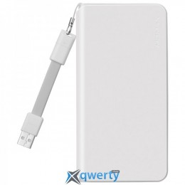 MOMAX iPower Minimal Type C External Battery fast charging 3A 10000mAh White (IP55W)