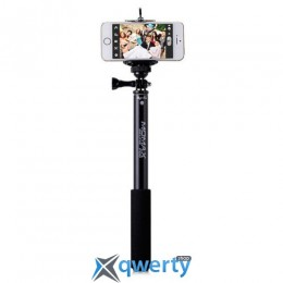 MOMAX Selfie Hero Bluetooth Selfie Pod 90cm Black (KMS1ND)