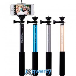 MOMAX Selfie Hero Bluetooth Selfie Pod 90cm Blue (KMS1NB)
