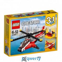 LEGO Creator Красный вертолёт 102 детали (31057)