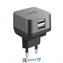 Lab.C X2 2 Port USB Wall Charger Space Gray (2.4A) (LABC-593-GR_KR)