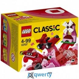 LEGO Classic Красный набор для творчества 55 деталей (10707)