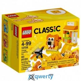 LEGO Classic Оранжевый набор для творчества 60 деталей (10709)