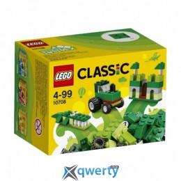 LEGO Classic Зелёный набор для творчества 66 деталей (10708)
