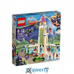 LEGO DC Super Hero Girls Школа супергероев 712 деталей (41232)