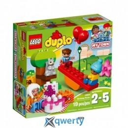 LEGO DUPLO День рождения 19 деталей (10832)