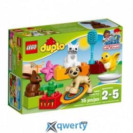 LEGO DUPLO Домашние животные 15 деталей (10838)