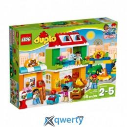 LEGO DUPLO Городская площадь 98 деталей (10836)