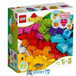 LEGO DUPLO Мои первые кубики 80 деталей (10848)
