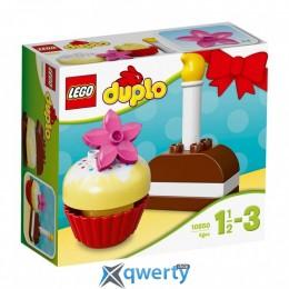 LEGO DUPLO Мои первые пирожные 8 деталей (10850)