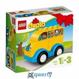 LEGO DUPLO Мой первый автобус 6 деталей (10851)