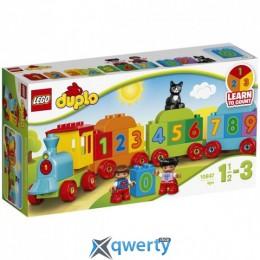 LEGO DUPLO Поезд Считай и играй 23 детали (10847)