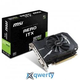 MSI PCI-ex GEFORCE GTX1050 ITX 2Gb GDDR5 (128bit) (GTX 1050 AERO ITX 2G OC)