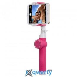 MOMAX Selfie Hero Bluetooth Selfie Pod 100cm Pink (KMS7P)