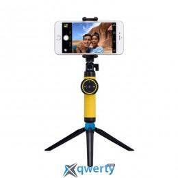 MOMAX Selfie Tripod Stable Handy Black/Yellow (TRS2Y)