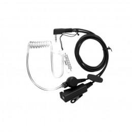 Agent cкрытого ношения c прозрачным звуководом и mini VOX РТТ (A-023K1)
