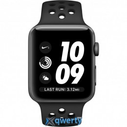 Apple Watch Nike+ MQ162 38mm Space Gray Aluminum Case with Anthracite/Black Nike Sport Band