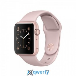 Apple Watch Series 2 MQ142 42mm Rose Gold Aluminum Case with Pink Sand Sport Band