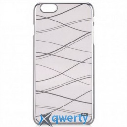 Momax Splendor case for Apple iPhone 6, silver (CXAPI P6S)