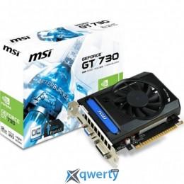 MSI PCI-Ex GeForce GT730 2048MB OC GDDR3 (64bit) (1006/1800) (DVI, VGA (D-Sub), HDMI) (N730K-2GD3/OCV1)