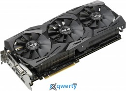 ASUS GeForce ROG-STRIX GTX1080TI 11G GAMING 11GB GDDR5X PCI-Ex (352bit) (1518/11016) (1X DVI, 2 x HDMI, 2 x DisplayPort) (ROG-STRIX-GTX1080TI-11G-GAMING)