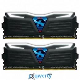 GEIL SUPER LUCE BLACK DDR4 16GB (2X8GB) 3000MHZ PC4-24000 (GLW416GB3000C15ADC)