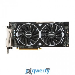 MSI PCI-Ex Radeon RX 580 ARMOR 4G OC GDDR5 (256bit) (1366/7000) (DVI, 2 x HDMI, 2 x DisplayPort) (RX 580 ARMOR 4G OC)